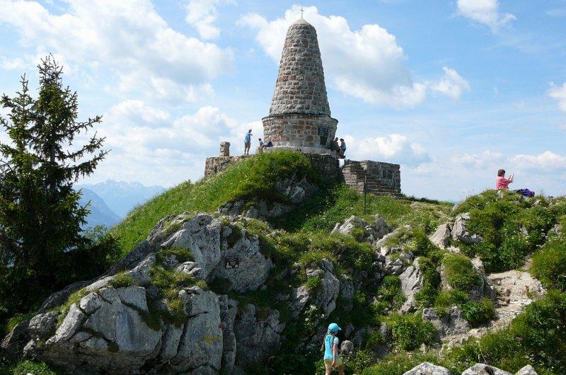 Jägerdenkmal am Grünten