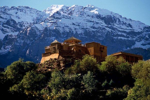 Mt. Toubkal mit Schnee