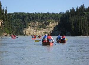 Mit dem Kanu durch Kanada