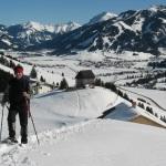 Schneeschuhwanderung im Allgäu