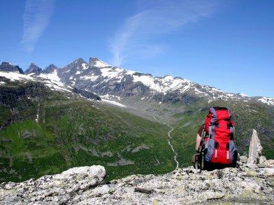 Von Hütte zu Hütte in Fjordnorwegen