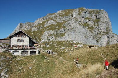 Aggenstein mit Bad Kissinger Hütte
