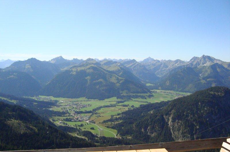 Blick von der Dürrenbergalm