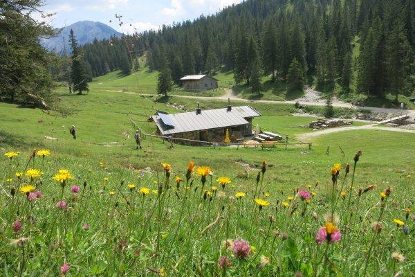 Jägerhütte am Tegelberg