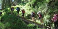 Meraner Höhenweg Weg der 1.000 Stufen