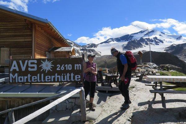 Martellerhütte 2610 m