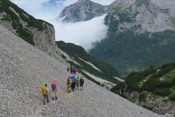Durchquerung der Brenta Dolomiten