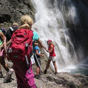 Wasserfall bei der Rossgumpenalm