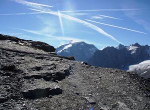 Gletscherberge im Vinschgau