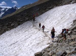 Gletscherlehrpfad Zufallhütte