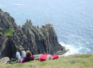 Wanderpause in Cornwall
