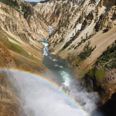 Grand Canyon des Yellowstone Rivers