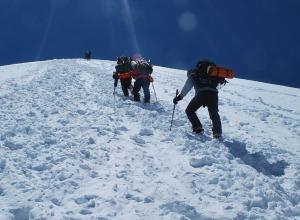 Gipfelbesteigung