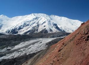 Gipfel im Schnee