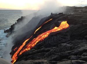 Lava auf Hawaii