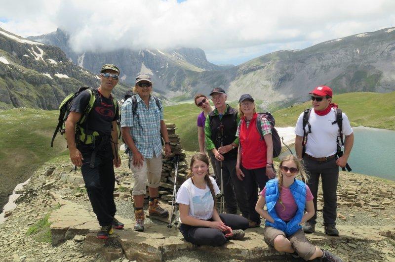 Pindos Gebirge - höchster Punkt Drachen See