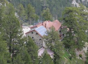 Mt. Olympus - Hütte Spylios Agapitos nah