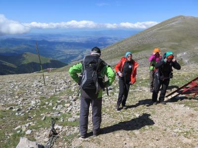 Mt. Olympus - in Richtung Gipfel