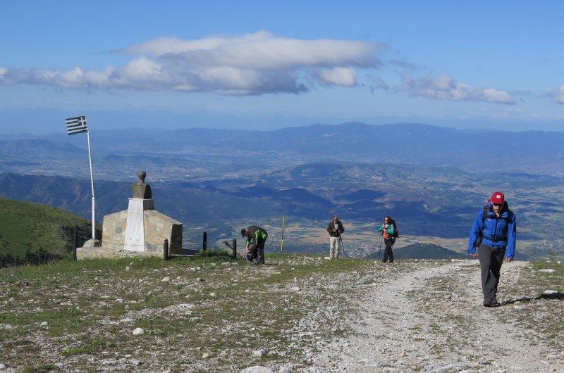Mt. Olympus - Start mit Weitblick