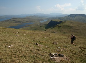 Wanderung auf Skye