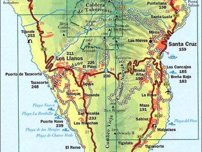 Karte: La Palma