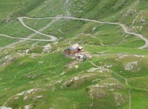 Berghütte Aosatal