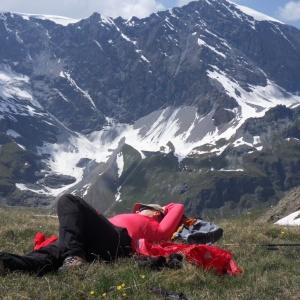 Entspannung im Aosta Tal vor Traumkulisse