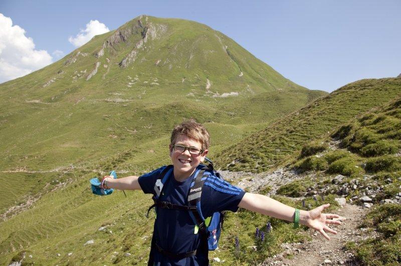E5 mit Kindern - Wandervergnügen