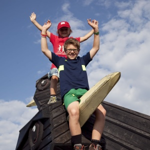 Holzdohlen am Timmelsjoch - E5 mit Kindern