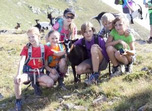 tierische Wegbegleiter - E5 mit Kindern