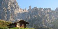 Berghütte Dolomiten
