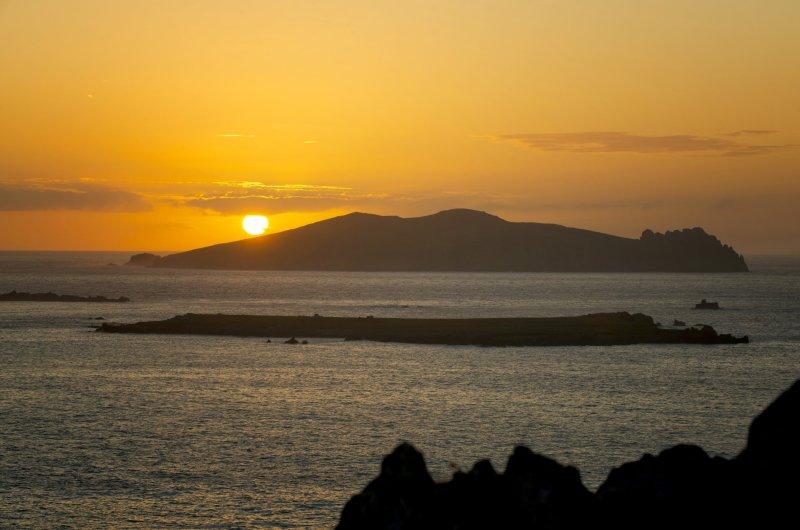 Sonnenuntergang in Kerry
