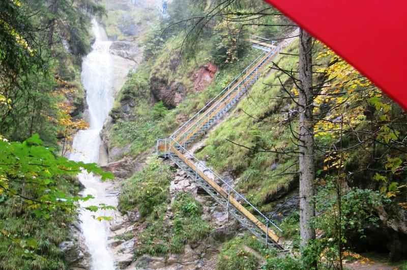 Wasserfallweg in Nesselwang
