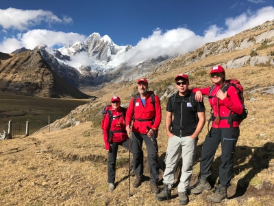 Carhuachocha Pass 4.700 m