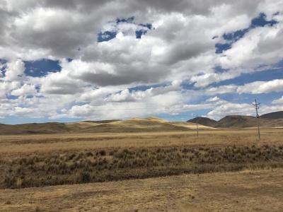 Fahrt nach Puno übers Altiplano