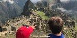 Freie Sicht auf Machu Picchu