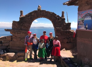 Insel Taquile Titicacasee
