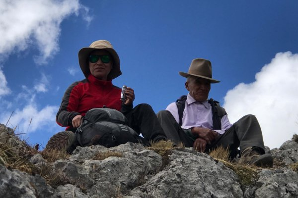 Pause am Pass Cacananunta, 4.750 m