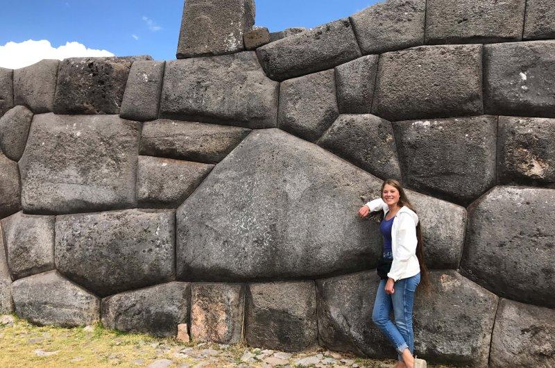 Sacsayhuaman - Felsformationen aller Art