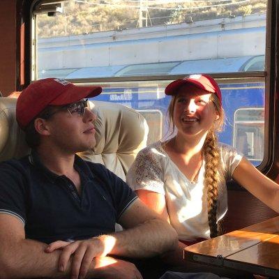 Zugfahrt nach Aguas Calientes