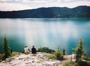 Blick auf Yukon River