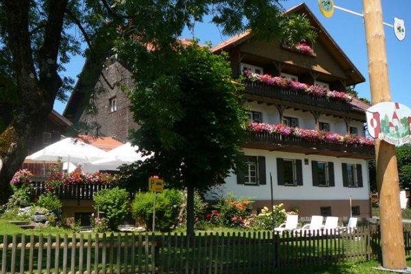 Gasthof Krone Mittelberg Sommer