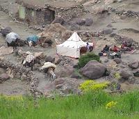 Marokko Toubkal Zeltlager