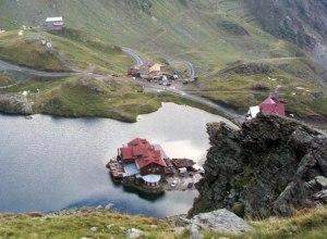 Rumänien Transsilvanien Hütte Balea Bergsee
