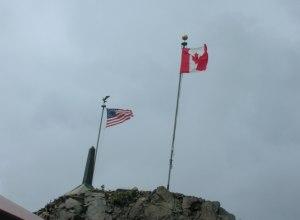 Grenze Alaska - Yukon