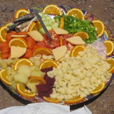 Mittagsmahlzeit, Marokko