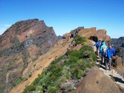 Auf den Pico Ruivo