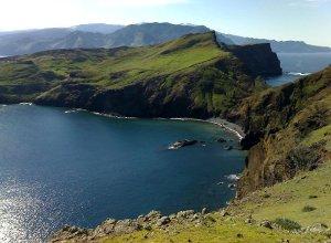 Blick auf die Küste Madeiras