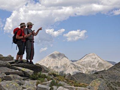 Vihren Peak und Kutelo Peak