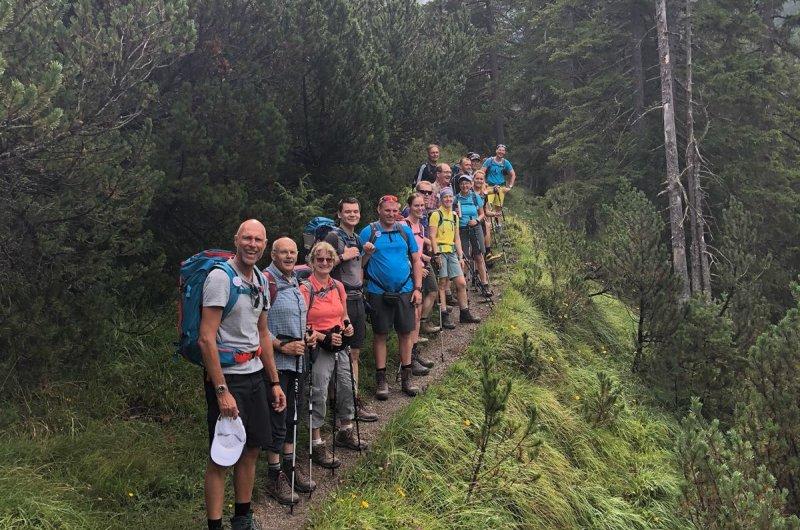 Weg zur Anhalter Hütte